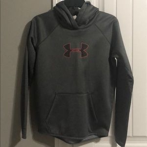 Under armour grey hoodie womens xs